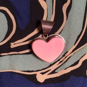 Jewelry - Coral Heart Pendant